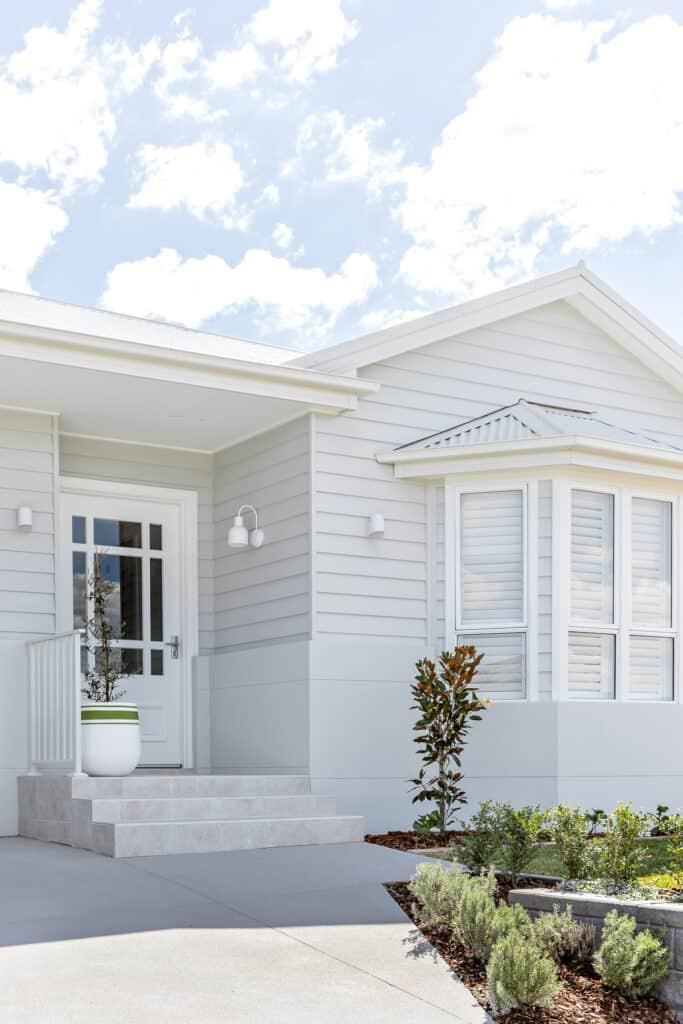 Oak Orange Australian home renovators new build